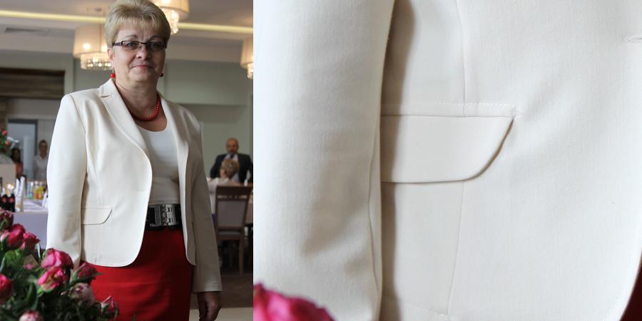 żakiet ze spódniczką kolekcja standard z De Marco