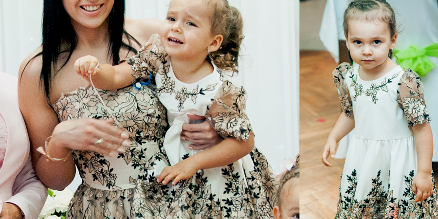 Sukienki na wesele dla mamy i córki, szycie na miarę w De Marco zamów w sklepie internetowym.