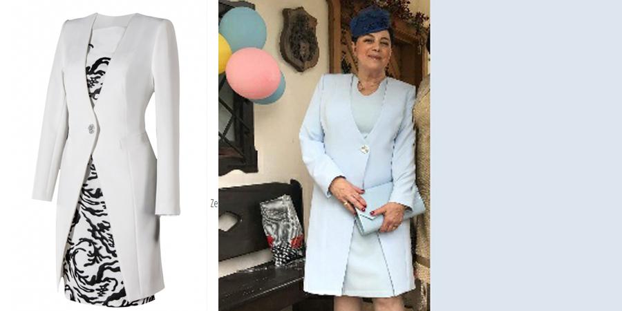 Płaszcz so sukienki, szyty na miarę on-line w De Marco