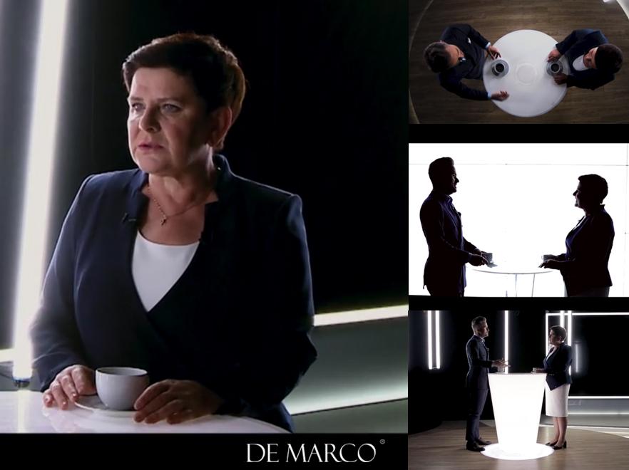 Beata Szydło z Brzeszcz kandydatka do europarlamentu 2019. ubiera się w De Marco.