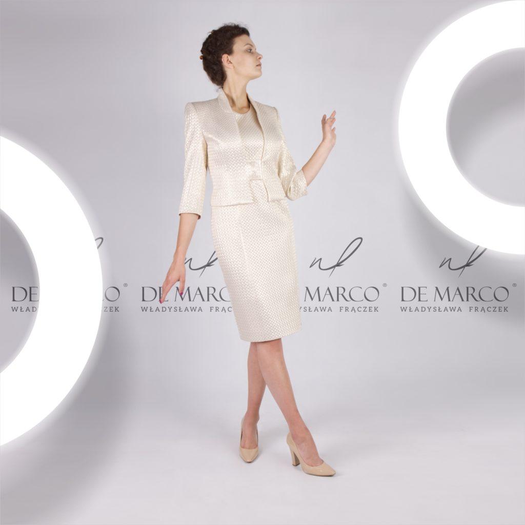 Najmodniejsze suknie dla mamy wesela na tegoroczne lato. De Marco Pracownia projektantki mody Władysławy Frączek
