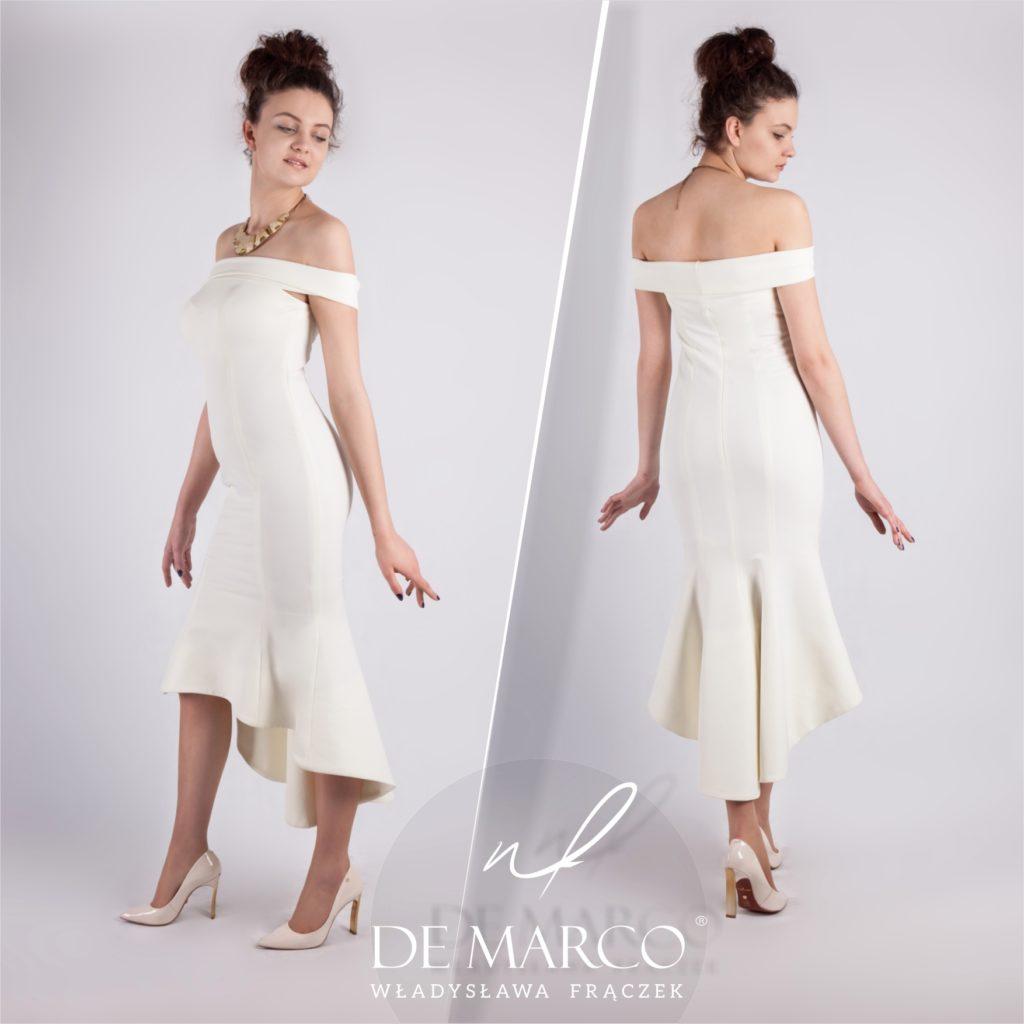 Suknia ślubna szyta na miarę u projektantki mody. Sklep internetowy De Marco.