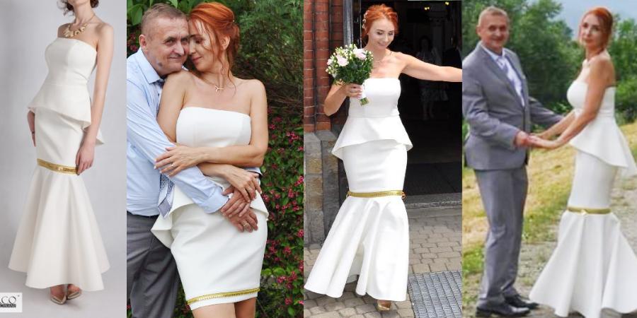 Unikatowe oryginalne suknie ślubne De Marco. Suknia ślubna szyta na miarę to doskonałe rozwiązanie dla pani młodej po 30+