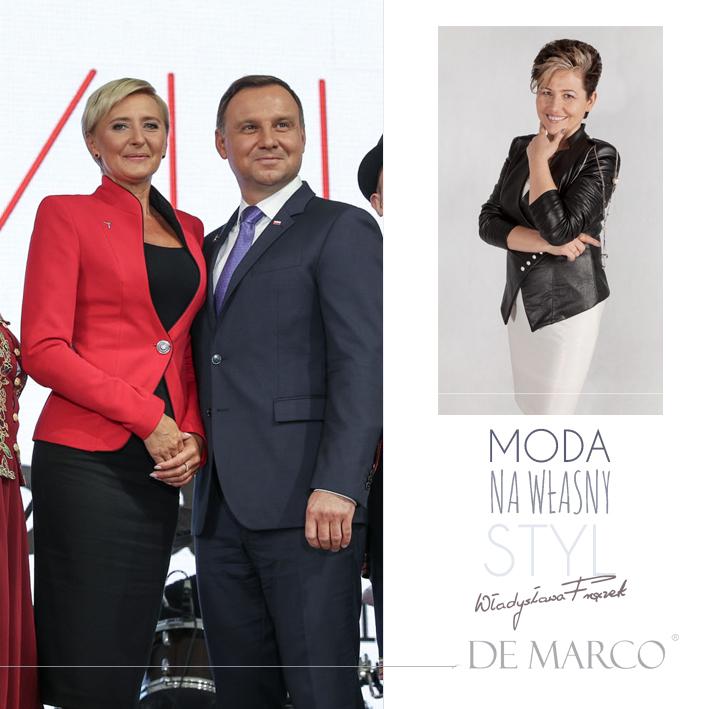 Władysława Frączek z De Marco projektantka pierwszej damy Agaty Dudy