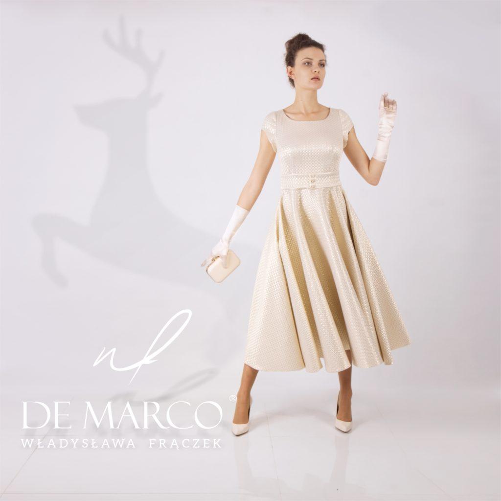 Suknie w stylu lat 50.Stylizacje - Kobiecość - Silny charakter.