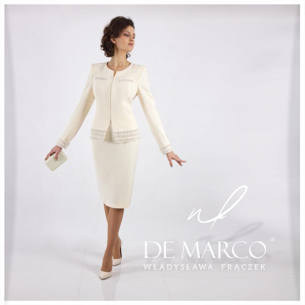 elegancka garsonka na wesele, sklep De Marco