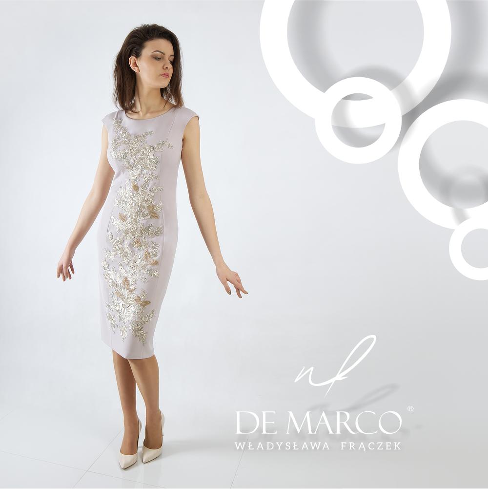 elegancka sukienka dla mamy