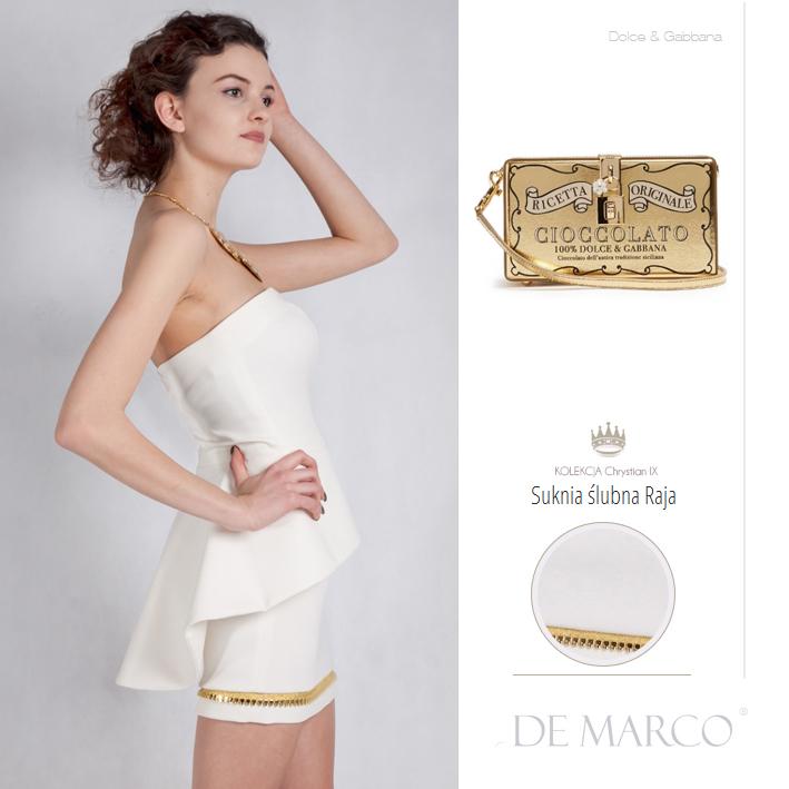 Ekskluzywne suknie ślubne od porjektantki spod Krakowa, szycie na miarę De Marco