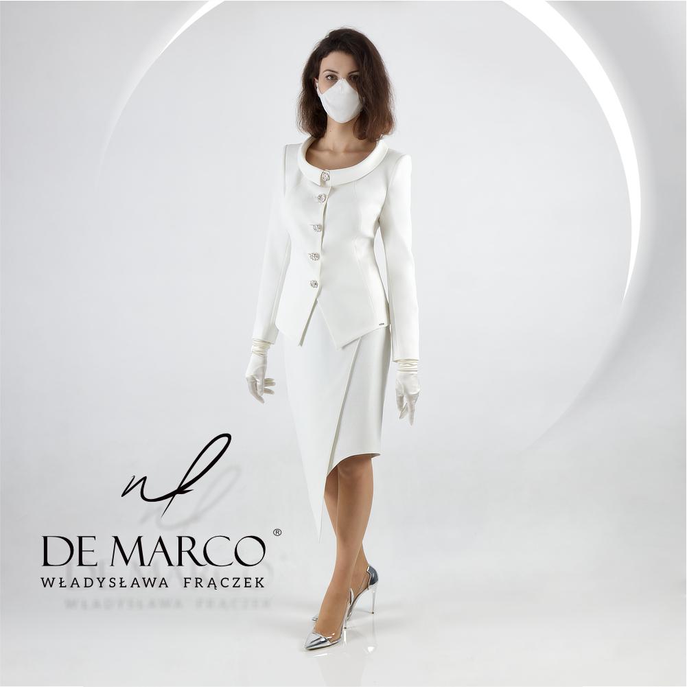 Eleganckie garsonki i kostiumy damskie sklep internetowy De Marco.