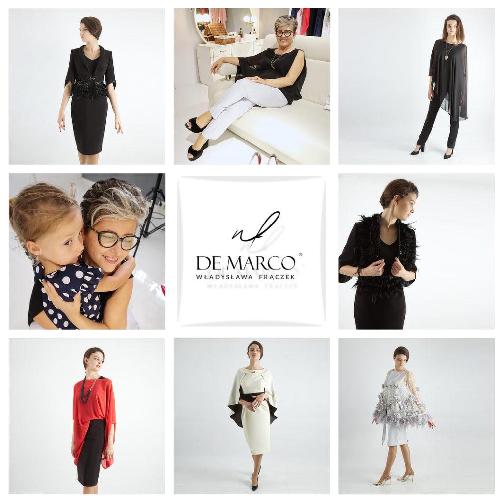 Nowa kolekcja De Marco. Szycie na miarę ekskluzywne garsonki i kostiumy damskie od projektanta.