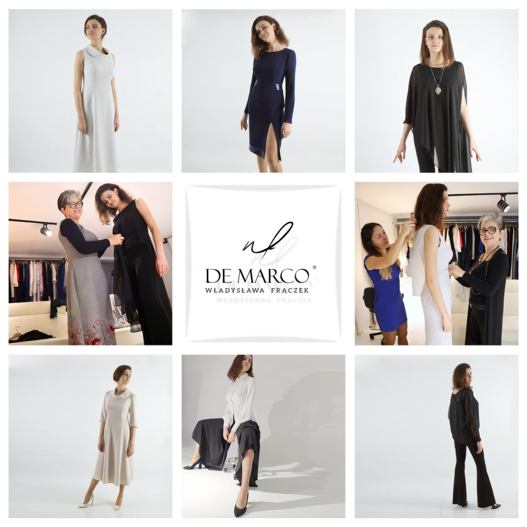 Zamów kolekcję ubrań kapsułowych tylko dla siebie w Salonie Mody De Marco.