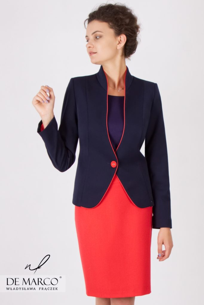Eleganckie kostiumy damskie do pracy. Kto ubiera spikerów telewizyjnych i polityków?