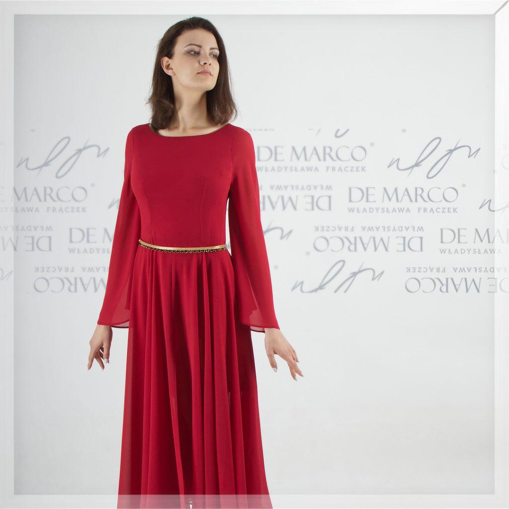 Czerwona sukienka Gaudium II