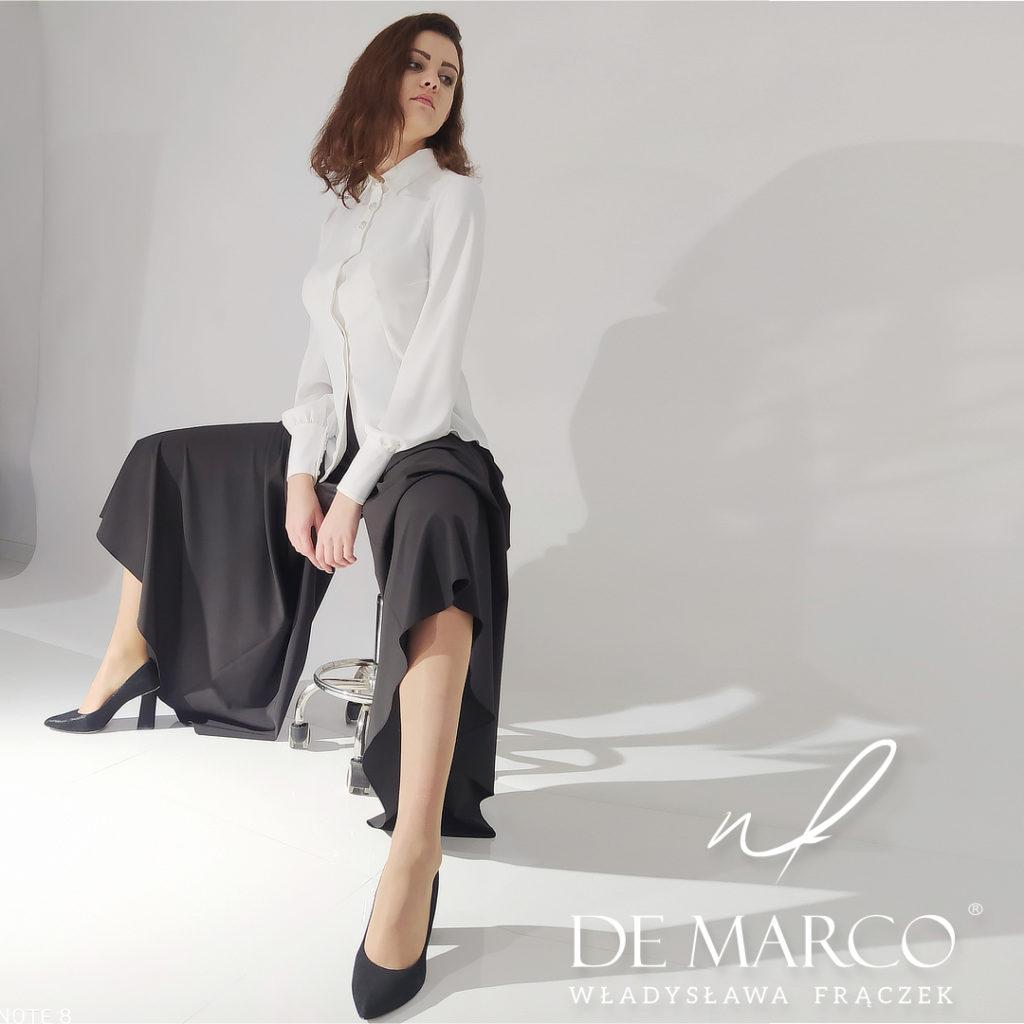 Eleganckie szerokie spodnie
