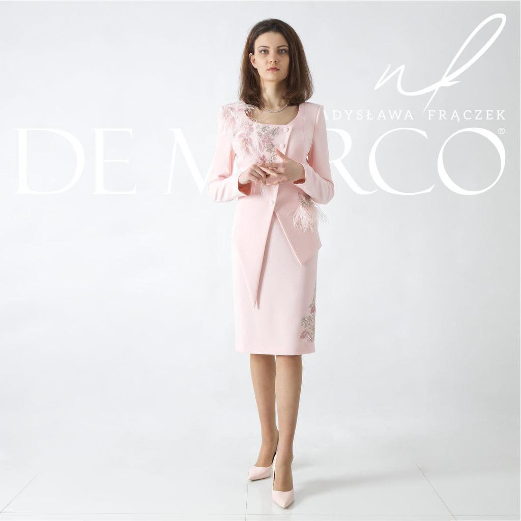 Najpiękniejsze ekskluzywne garsonki dla mamy wesela - De Marco