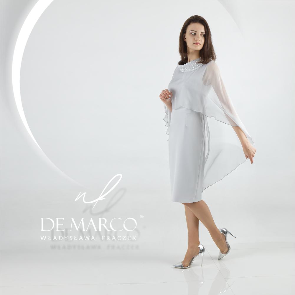 ekskluzywna sukienka na wesele dla mamy dostępna w Salonie Mody De Marco