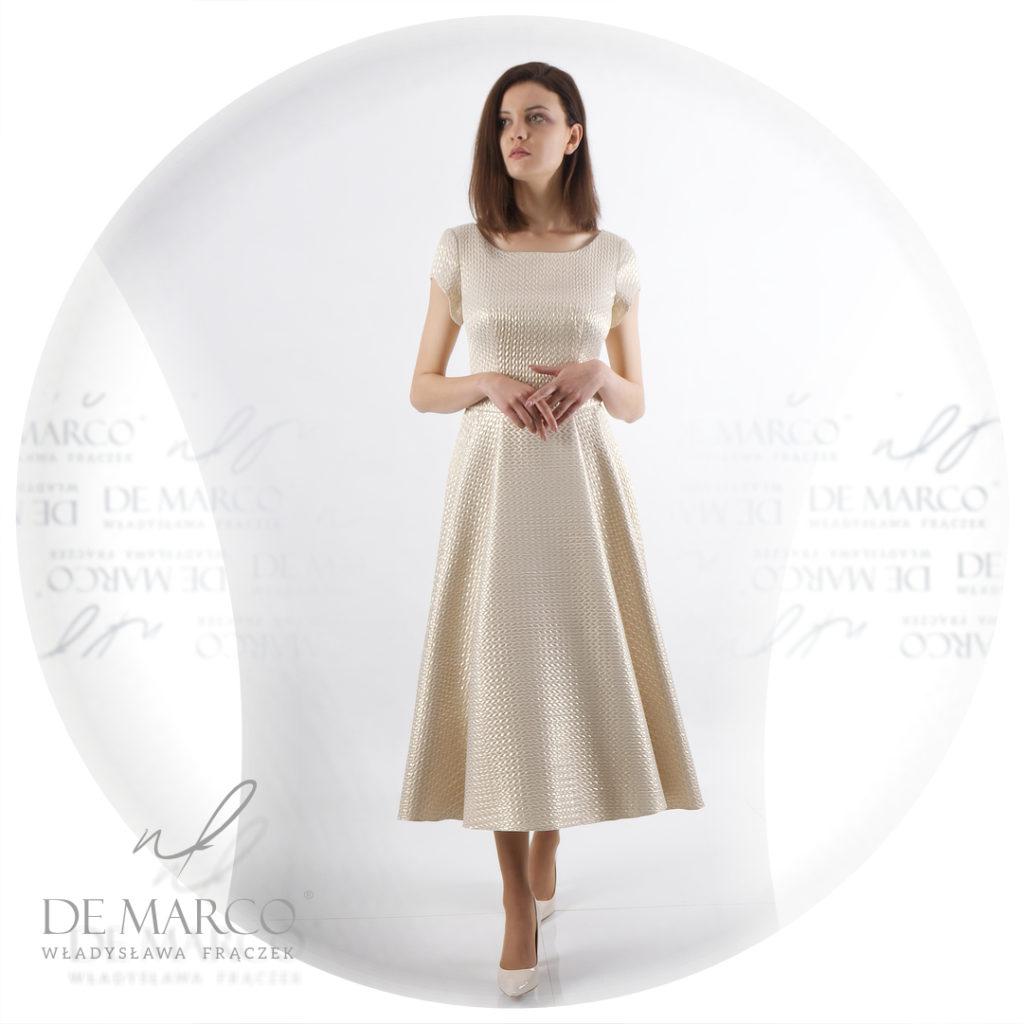 sukienki na wesele dla mamy - De Marco