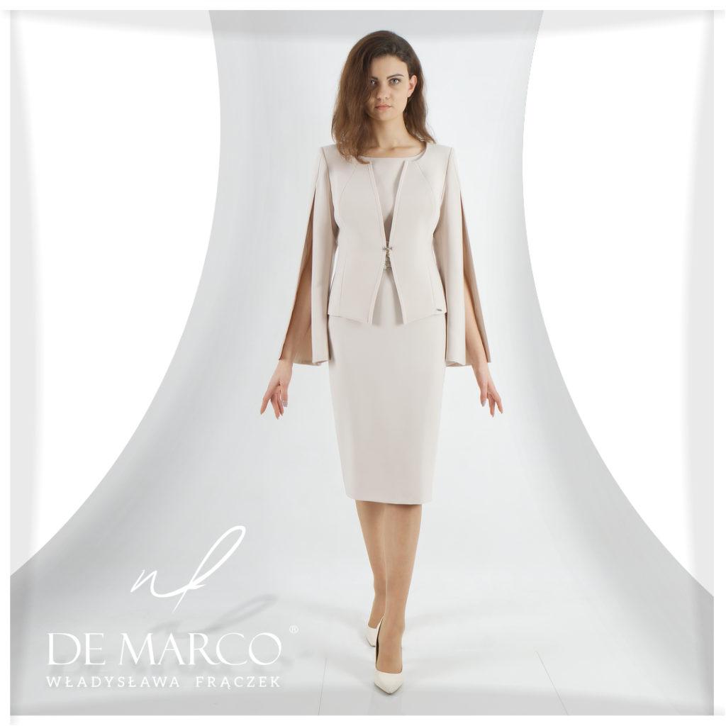 Sukienki ekskluzywne na wesele dla mamy - De Marco