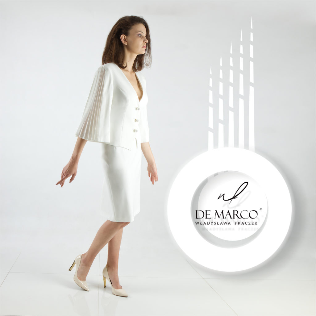 biała garsonka De Marco